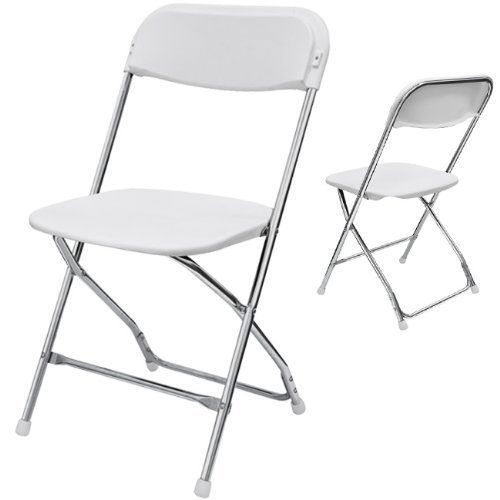 Where to rent WHITE   CHROME CHAIR in Ft. Worth Texas