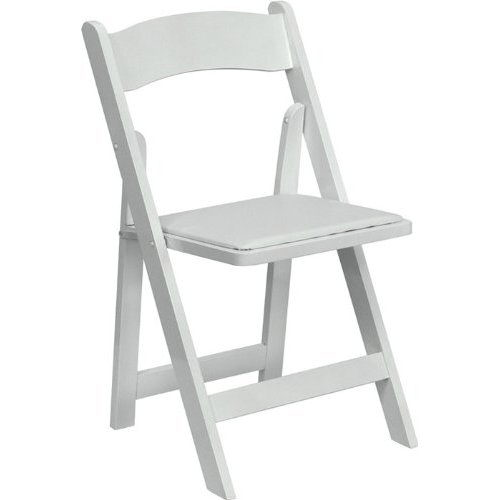 Where to find White Garden Padded Chair in Fort Worth