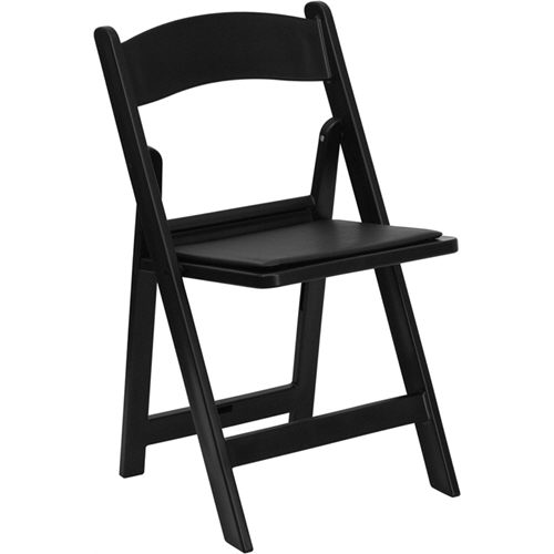 Where to rent BLACK GARDEN PADDED CHAIR in Ft. Worth Texas