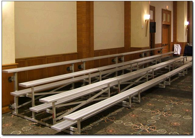 Where to find BLEACHER, 3 Row 4.5  W x 7.5' L in Fort Worth