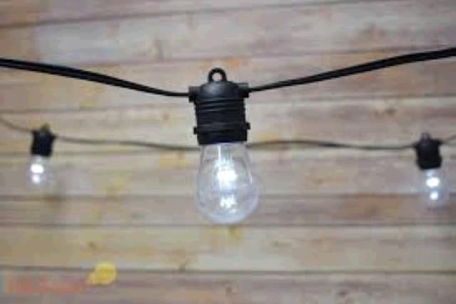 Where To Rent STRING LIGHTS LED BLACK CORD In Ft. Worth Texas