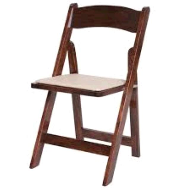 Where to rent FRUITWOOD GARDEN PADDED CHAIR in Ft. Worth Texas