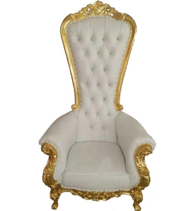 Chair White Gold Throne Rentals Fort Worth Tx Where To